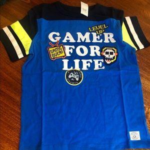 NWT Gap boys Medium Gamer T-Shirt